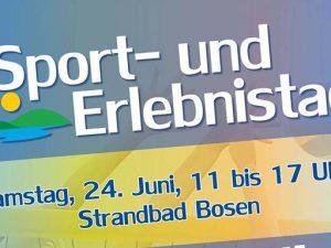 Sport- und Erlebnistag am Bostalsee