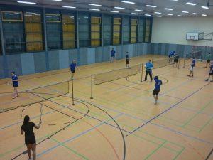 Heimspieltag Badminton