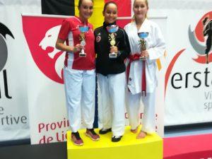 Amelie Herges gewinnt die Belgisch – Open