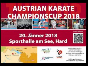 AUSTRIAN KARATE CHAMPIONSCUP 2018