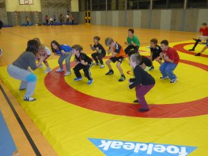 Kids Training – Ringen vom 23.01.2018