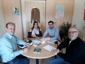 Vorbereitung's-Treffen – Integration durch Sport – Wir im Verein