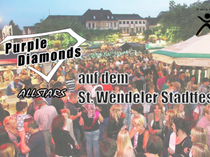 St. Wendeler Stadtfest 2018 wird Purple