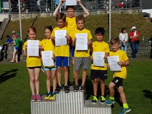 Kinder-Leichtathletik Sportfest in Oppen 2018