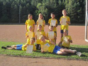 Kinderleichtathletik: Erfolgreicher Tag in Elm (09/18)