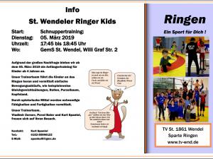 Schnuppertraining Ringer Kids