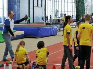 5 Siege bei dem SLB-U14-Hallensportfest 2019