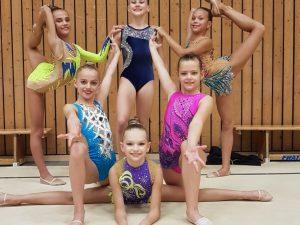 Sechs Gymnastinnen des TV St.Wendel erfolgreich beim Halloween-Turnier in Ludwigshafen