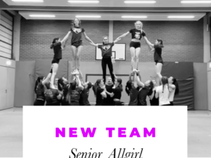 NEW TEAM: Senior Allgirl