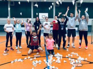 Ferientraining für U11 Badminton