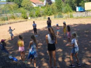 Sommerfest der Abteilung Showtanz mit Abstands- und Hygieneregeln