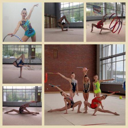 Teilnehmerinnen DJM und Qualifikation MK -Collage