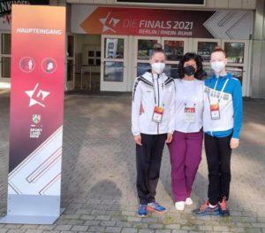 Saarländische Teilnehmerinnen bei RSG-DM