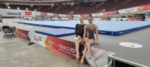 Xenia Mauer und Anna Spanier