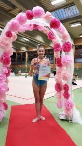 Vasiana 3.Platz mit Ball FWK